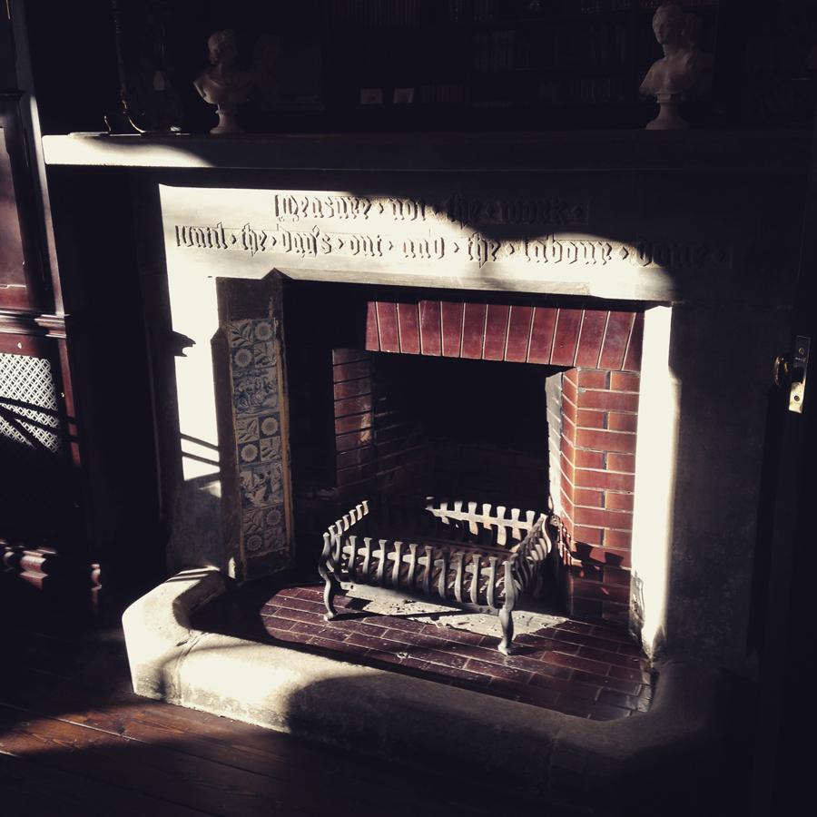 Bensham Grove fireplace