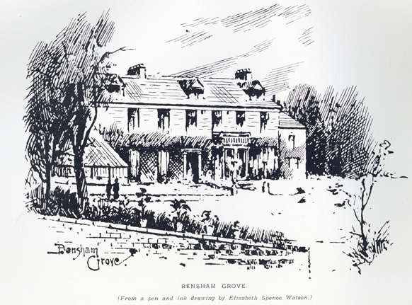 Bensdham Grove drawing